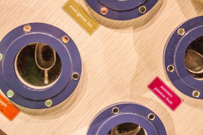 Portholes of Tea Leaves.