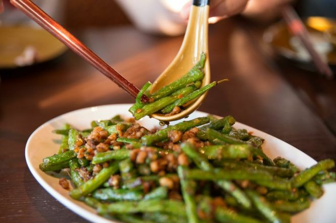 Sautéed French Beans with Minced Pork :: $11.80++