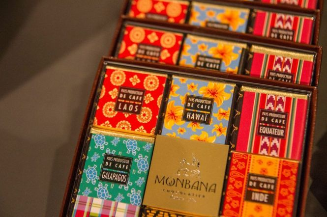 Monbana Chocolates.