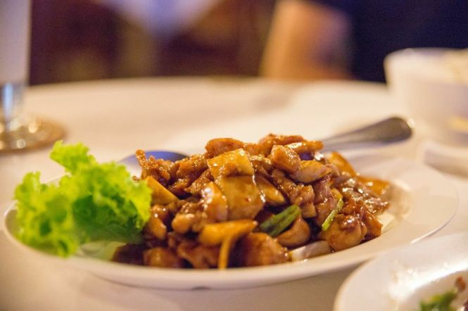 Jiang Bao Chicken :: $13++