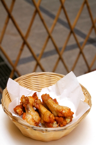 Oven-roasted Wings (5 pieces) :: $3.50