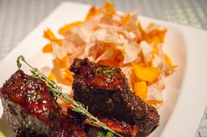 Spicy Kalbi Beef Short Ribs :: $36++