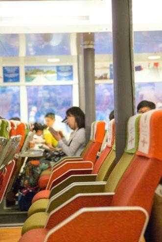 Bintan Resorts Ferry, Economy Class.