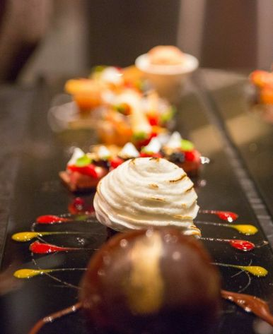 'A Sweet Experience' - Dessert Crafted at your Table.