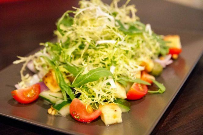 Haloumi & Green Olive Salad :: $18