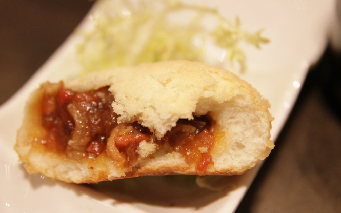 Baked Bun with BBQ Pork :: $4.50++
