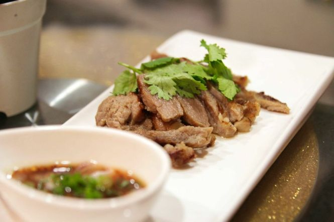 Kor Moo Yang. Seared Pork Collar :: $12.80