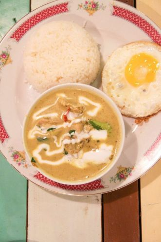 Green Curry Chicken :: $8