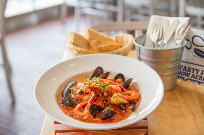 Seafood Bouillabaisse :: $19.95++