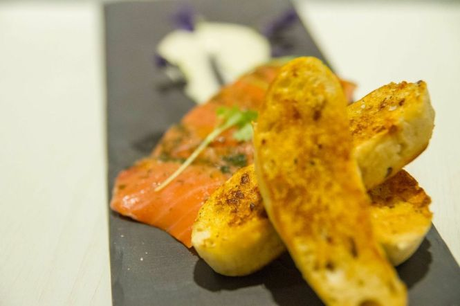Salmon Gravlax :: $9.90++