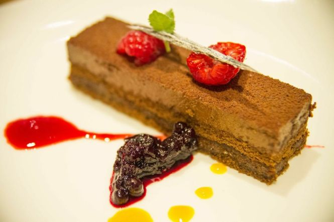 Gianduja Shortbread Cake :: $11.90++