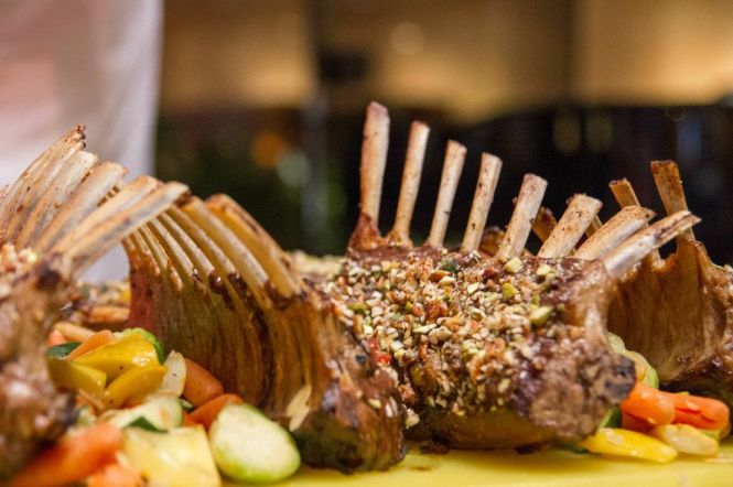Roasted Australian Lamb Rack :: $98/800g