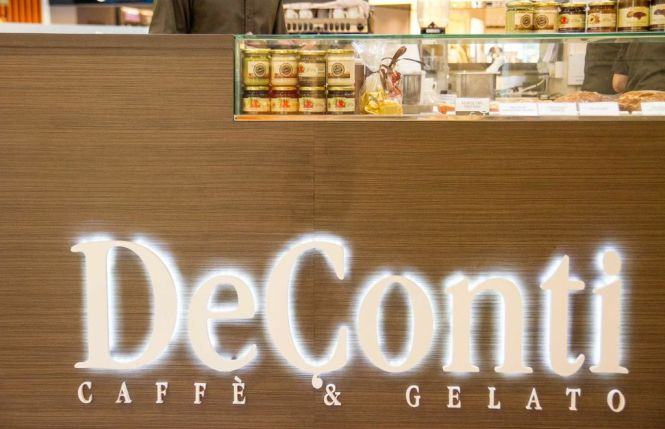 DeConti Caffè & Gelato.