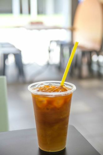 Thai Iced Milk Tea :: $1.50
