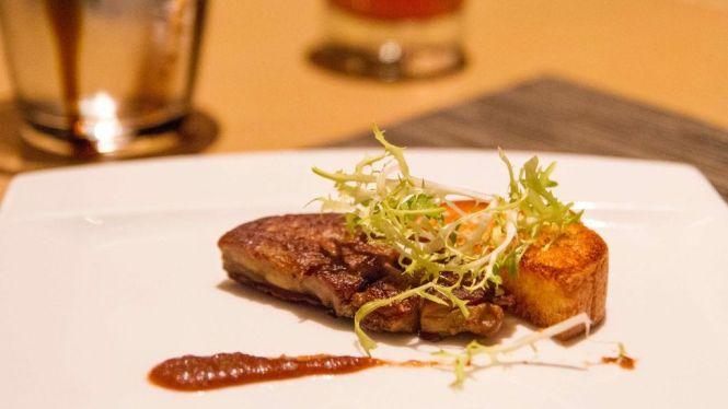 Port-glazed Foie Gras.