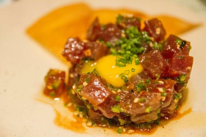 Spicy Tuna Tartare :: $24++