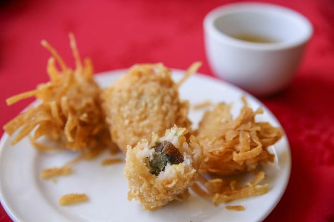 Century Salted Egg Fritters.