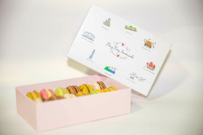 Pierre Hermé, Packaging of Hong Kong Landmarks.