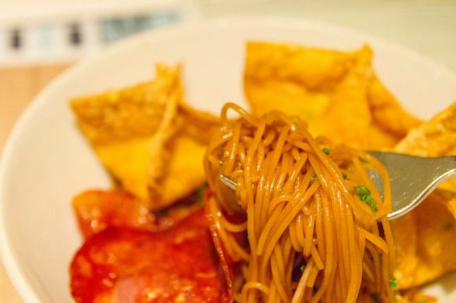 Lobster Wonton Capellini :: $26++