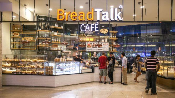 Breadtalk Café.