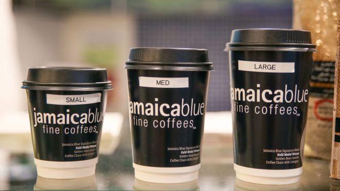Coffee Sizes.