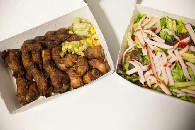 Starters & Salad.