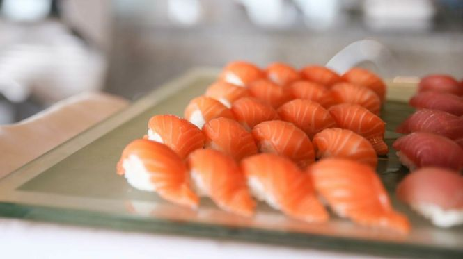 Signature Selections of Sushi & Nigiri.
