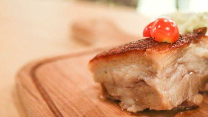 Kurobuta Pork Belly :: $25.90