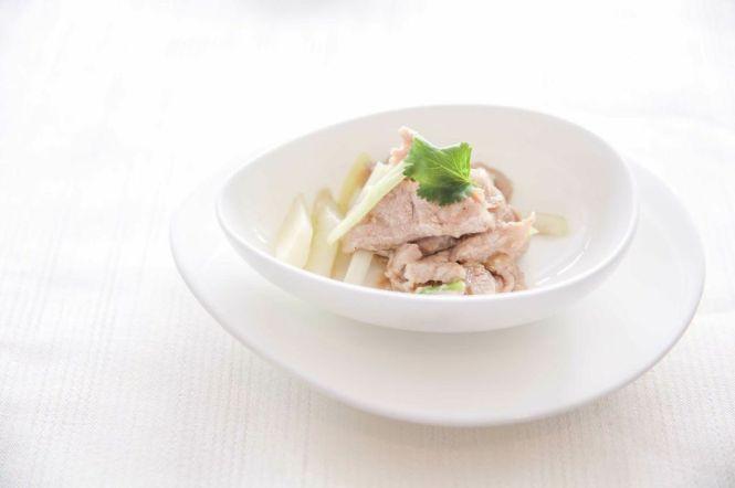 Wok-fried Kurobuta Pork Fillet.