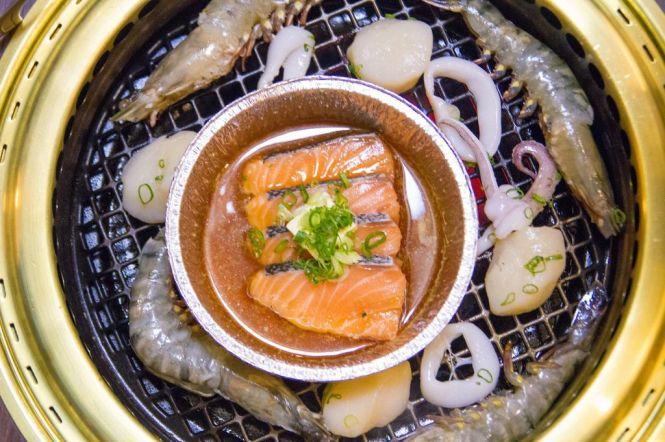 Seafood. Squid :: $6.80++ Tiger Prawn :: $12.80++ Scallop :: $12.80++