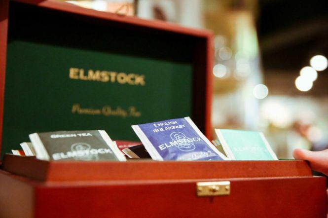 Elmstock Tea.