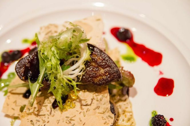 Pan-Fried Goose Liver :: $20++