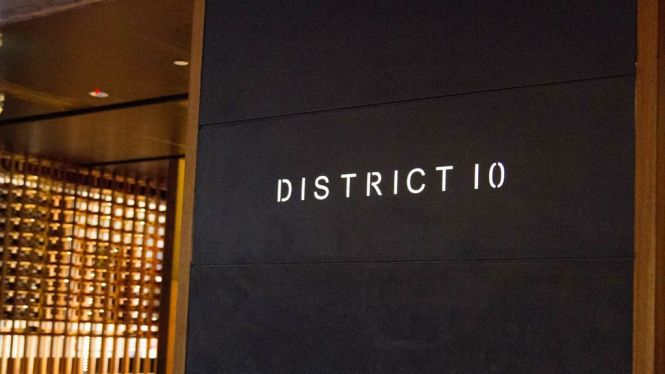 District 10 Bar & Restaurant.