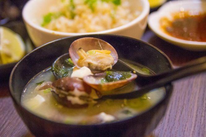 Clam Miso Soup :: $7.80++
