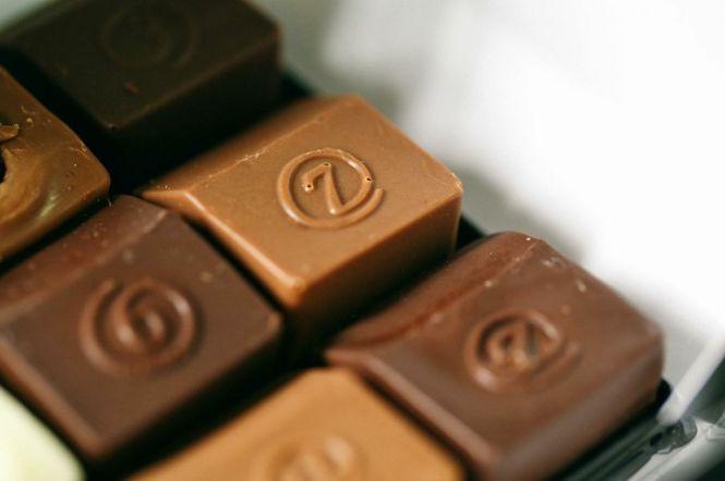 Premium, luxury chocolates.