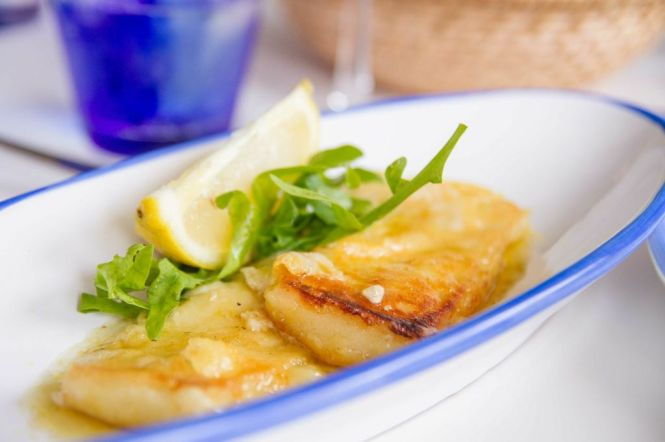 Pan-Fried Graviera Cheese :: $15.90++