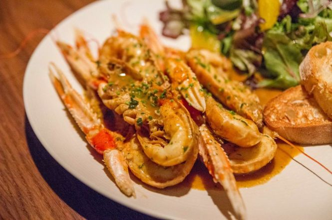Grilled Langoustine :: $26++