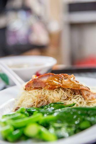 Charsiew Wonton Noodles :: $3.50