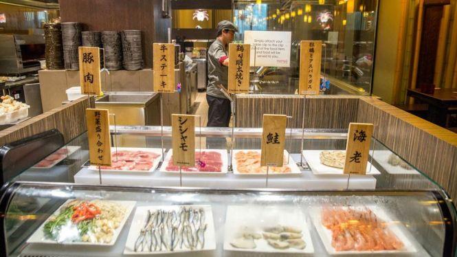 Teppanyaki Counter.