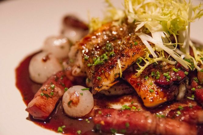 Pan-Seared Snapper :: $24++