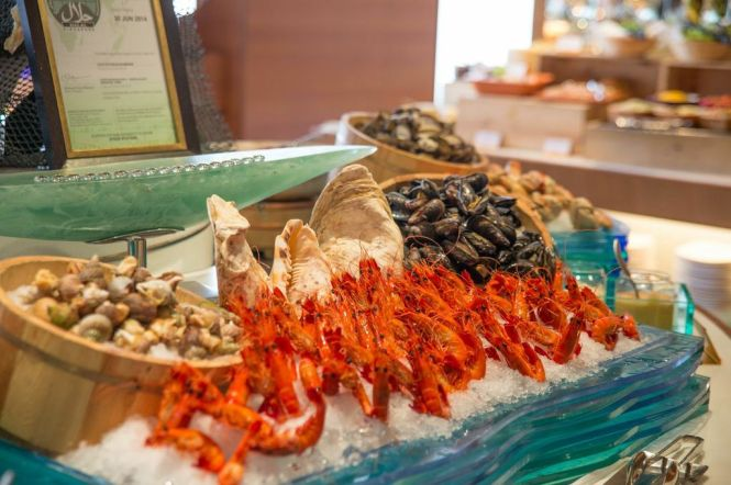 Seafood Counter.