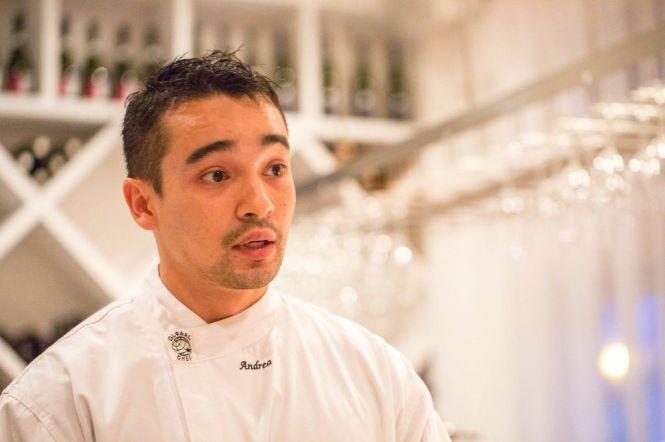Chef Andrea Scarpa.