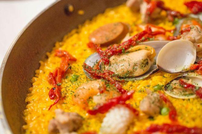 Paella (serves 2) :: $46++