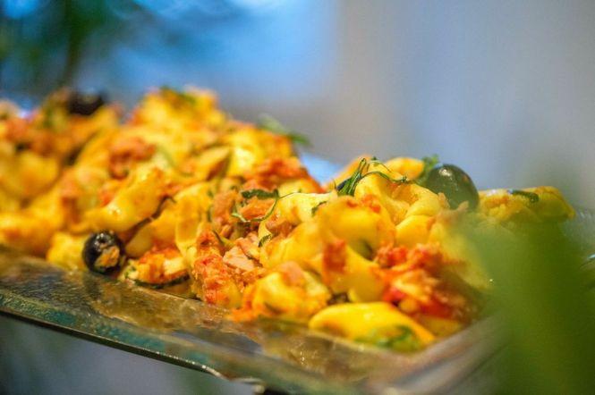 Spinach Ricotta Tortellini.
