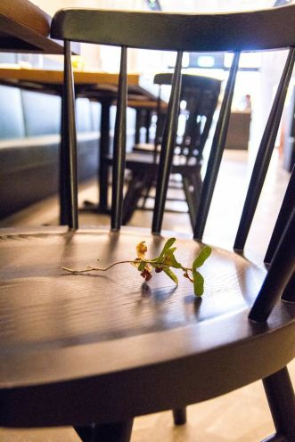 Seats at SPRIGS Chope-d with a sprig?!