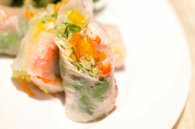 Vietnamese Spring Roll :: $