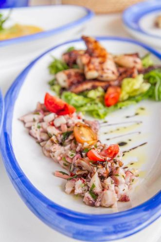 Grilled & Marinated Octopus :: 21.90++