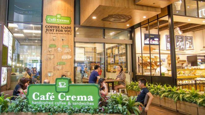 Café Crema.