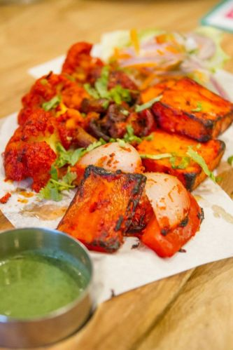 Tandoori Mixed Grill (Vegetarian) :: $22++