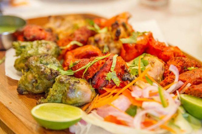 Tandoori Mixed Grill :: $29++